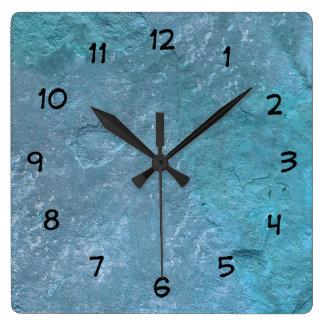 Horloges en pierre de décor de mur de cuisine de