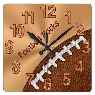 Horloges fraîches personnalisables du football