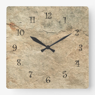 Horloges murales en pierre de cuisine de regard