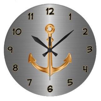 Horloges nautiques chiques de décor de mur