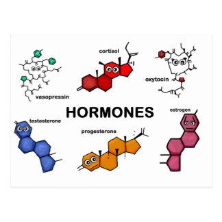 Hormones Carte Postale