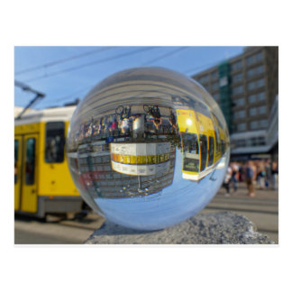 Horodateur du monde, Alexanderplatz, Alex, Berlin Carte Postale