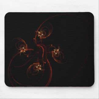 Hors de l'art abstrait foncé Mousepad Tapis De Souris