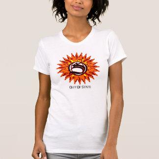 Hors de l'état T blanc (femmes) T-shirts