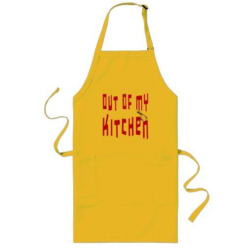Hors de mon dire drôle de cuisine de cuisine tablier