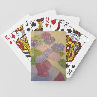 Hortensia lunatique jeux de cartes