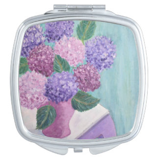 Hortensia mol miroir de voyage