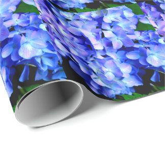 Hortensias de Tanzanite Papier Cadeau