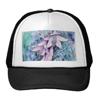 Hosta en fleur casquettes de camionneur