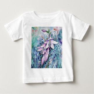 Hosta en fleur t-shirt pour bébé