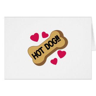Hot-dog ! carte de vœux