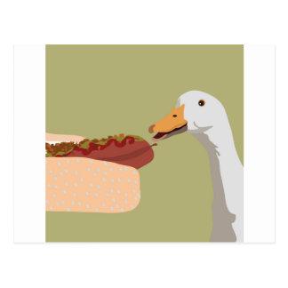 hot-dog carte postale
