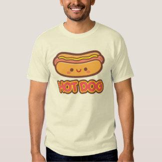 Hot-dog de Kawaii T-shirt