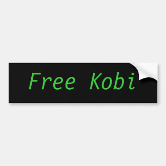 Hot-dog libre de Kobi Kobayashi mangeant l'adhésif Autocollant De Voiture