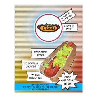 "Hot-dog ""ripper "" prospectus 21,6 cm x 24,94 cm"