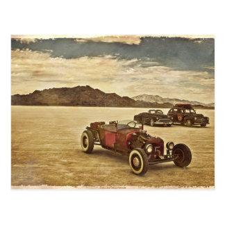 Hot rod à la carte postale de Bonneville