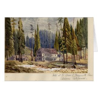 Hôtel au verger des arbres de Mamoth Carte De Vœux