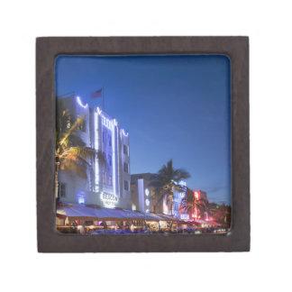 Hôtel de balise, commande d'océan, Miami Beach du  Boîtes À Souvenirs De Première Qualité