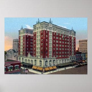 Hôtel de Gary Indiana Gary Affiche