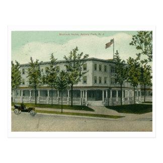 Hôtel de Montauk, parc d'Asbury, cru de NJ Carte Postale