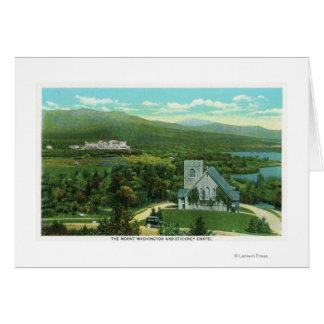 Hôtel de Mt Washington, vue de chapelle de Carte De Vœux