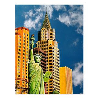Hôtel de New York, New York, Las Vegas, carte Carte Postale