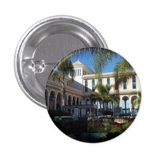 Hôtel de Ténérife et insigne de bouton de palmiers Badge