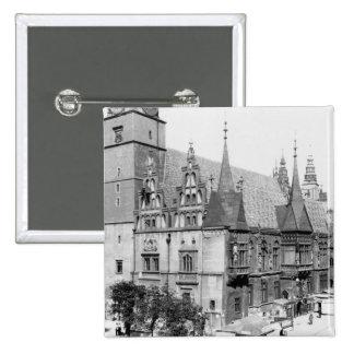 Hôtel de ville, Breslau Pologne, c.1910 Badges