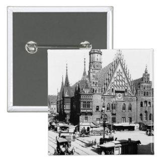 Hôtel de ville, Breslau Pologne, c.1910 Pin's