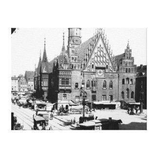 Hôtel de ville, Breslau Pologne, c.1910 Toiles