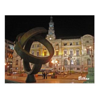 Hôtel de ville de Bilbao Carte Postale