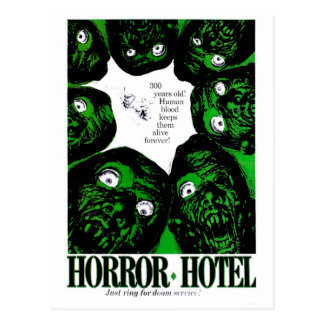 Hôtel d'horreur cartes postales