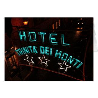 Hotel Trinita Del Monti Cartes De Vœux
