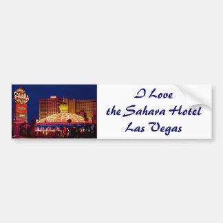 Hôtel vintage Las Vegas du Sahara Autocollant Pour Voiture