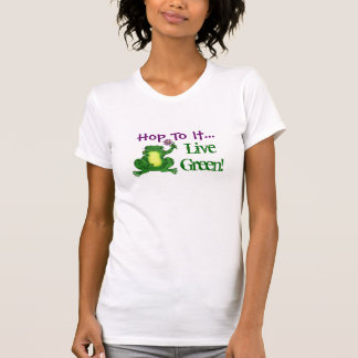 Houblon à lui Vert vivant - Pièce en t de houb T-shirts