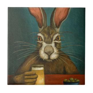 Houblon de lapin petit carreau carré