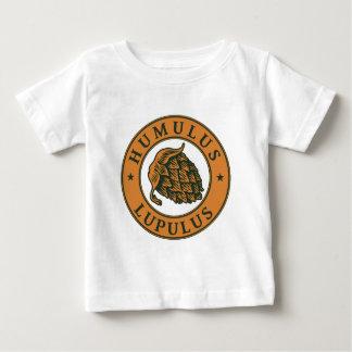 Houblon de lupulus de Humulus pour la bière de T-shirt Pour Bébé