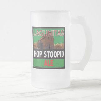 Houblon Stoopid Mug En Verre Givré