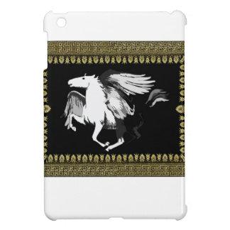 hourse blanc fané étuis iPad mini