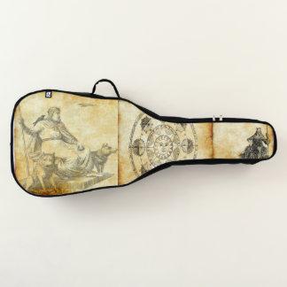 Housse De Guitare parchemin 1 combiné