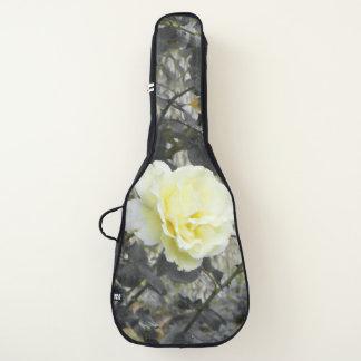 Housse De Guitare rose jaune noir et blanc
