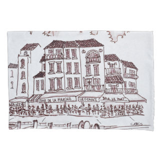 Housse D'oreillers Bord de mer   Cassis, France de restaurants