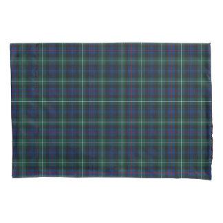 Housse D'oreillers Clan plaid écossais bleu et vert du Mackenzie