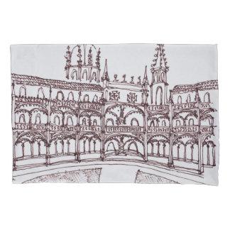 Housse D'oreillers Cloître   Lisbonne, Portugal de monastère de