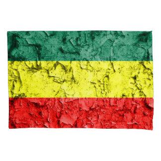 Housse D'oreillers Drapeau vintage de reggae