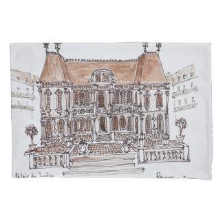 Housse D'oreillers Palais de Justice Courthouse   Rennes, la Bretagne
