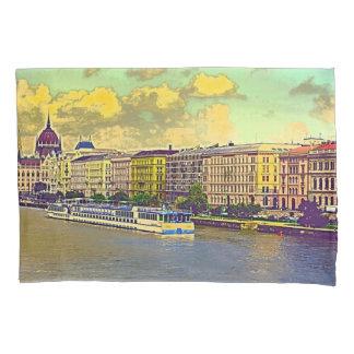 Housse D'oreillers Peinture hongroise du Parlement