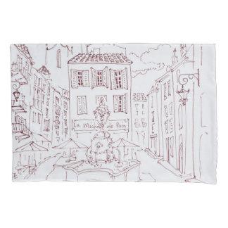 Housse D'oreillers Placez DES Tanneurs   Aix-en-Provence, France