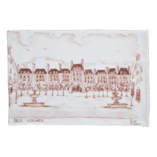Housse D'oreillers Placez DES VOSGES   Marais, Paris