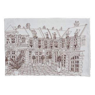 Housse D'oreillers Placez Oignons aux., la vieille ville   Lille,